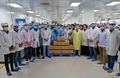 Infinix تبدأ إنتاج أول دفعة من هواتفها المصنعة فى مصر