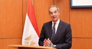 """وزير الاتصالات وتكنولوجيا المعلومات: """"مدينة المعرفة"""" تعد مشروعا رائدا فى بناء مصر الرقمية"""