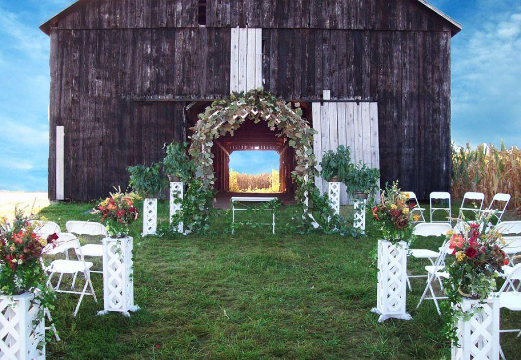 Camo Wedding Table Centerpieces