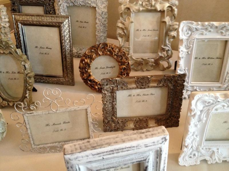 Wedding Place Holder Ideas