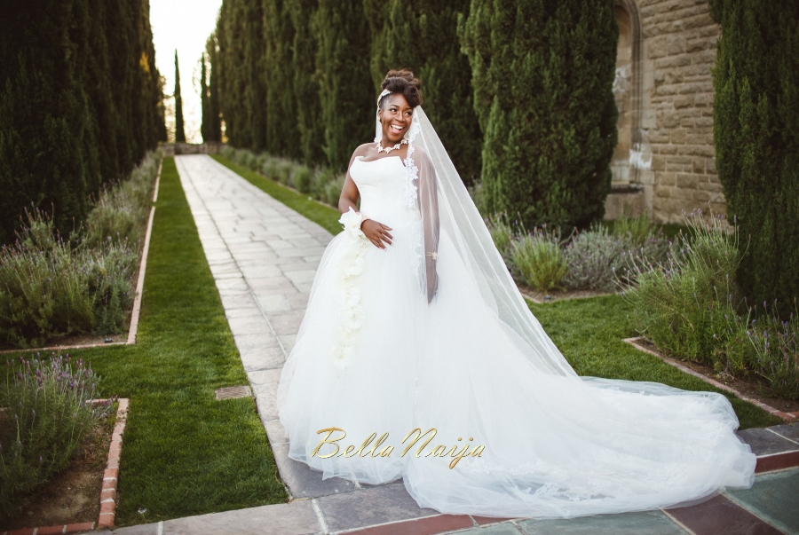 African Style Wedding Dress