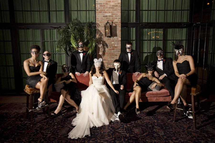 Masquerade Ball Wedding Theme Ideas