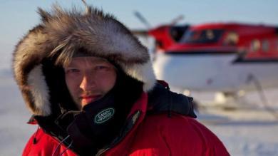 Ben Saunders em sua última expedição