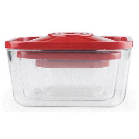 pack de 3 boites sous vide en verre pompe electrique