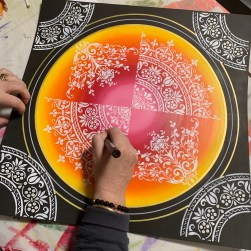 Embarked Mandala Painting Workshop
