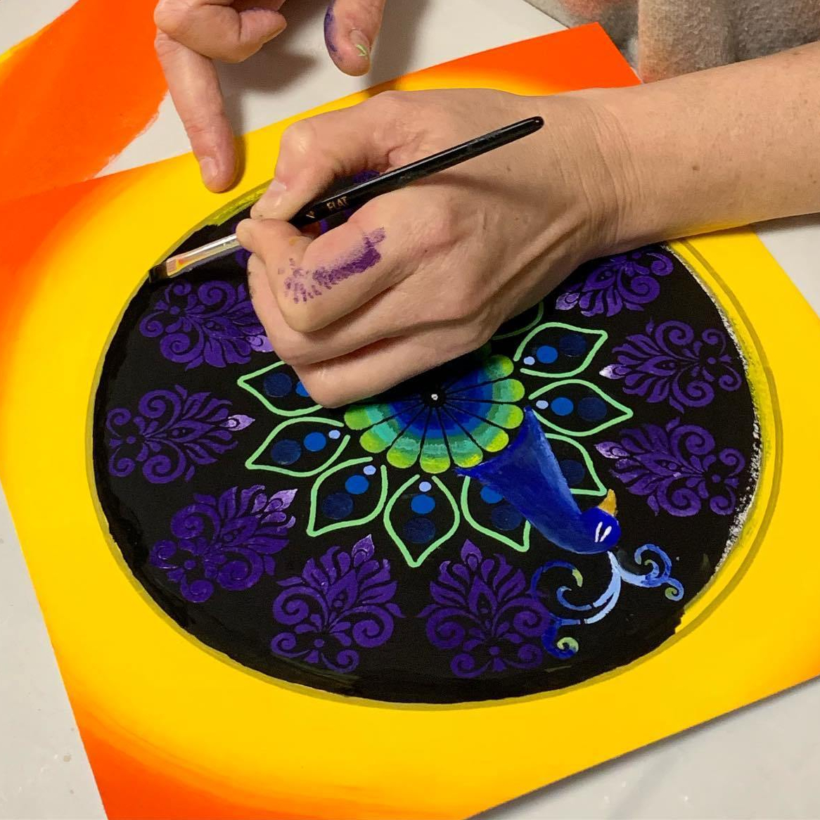 Embarked Mini Mandala Painting Workshops