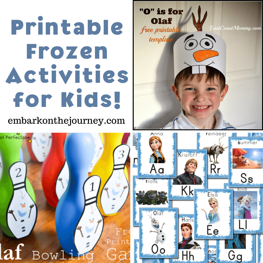 10 Fabulously Free Frozen Printable Activities For Kids
