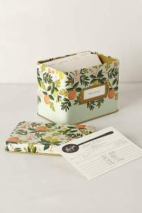 Anthropologie Recipe Tin- $38