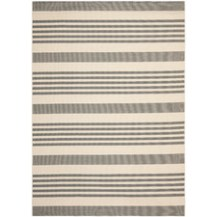 Wayfair- Courtyard Gray Area Rug, $32-$222