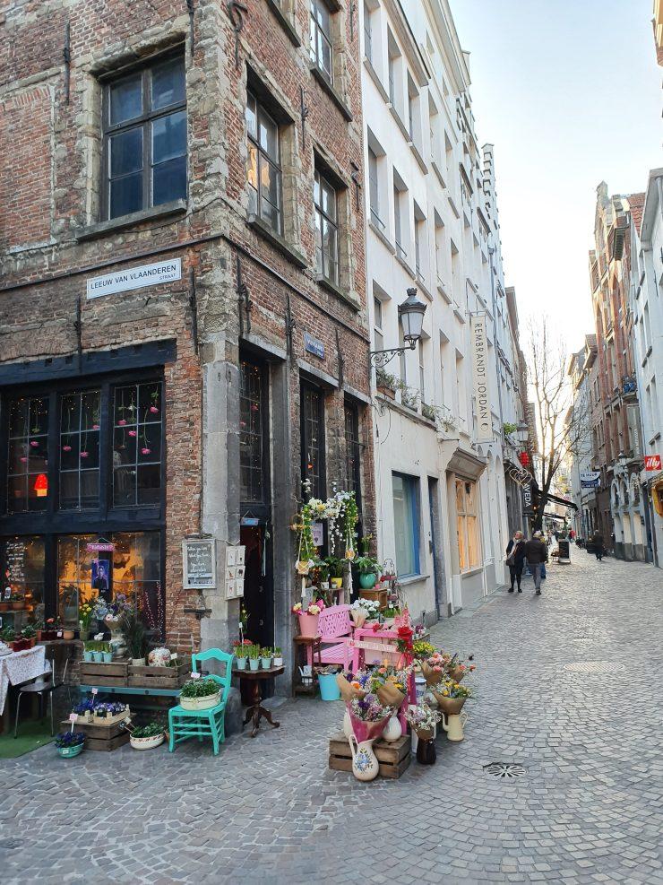 Ruelle fleuriste Anvers
