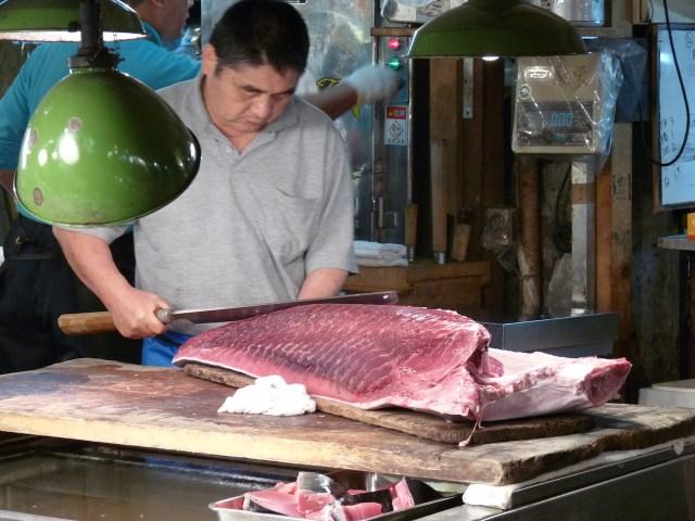 tsukiji fish market tóquio