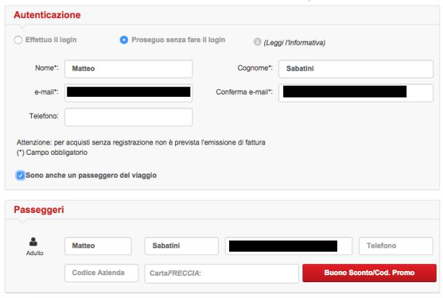 trem italia passagem