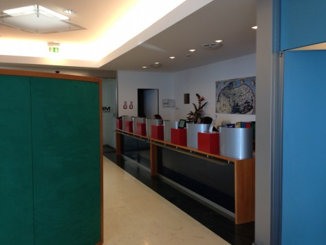 Sala Vip MBL Lounge no Aeroporto de Bolonha, Itália