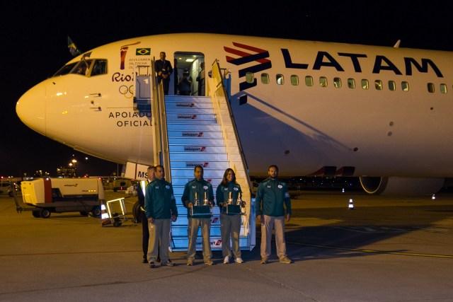 LATAM Airlines traz a chama olímpica ao Brasil