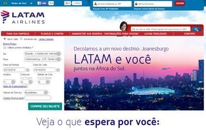 LATAM Airlines Brasil lança primeira promoção de passagens do novo voo para a África do Sul