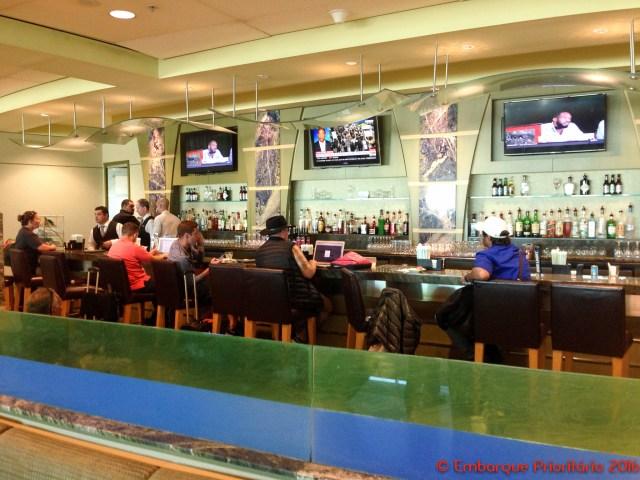 Sala vip American Airlines Admirals Clube em Miami