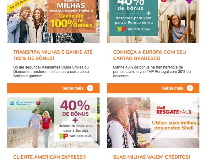 Smiles oferece superpromoções na transferência de pontos do cartão de crédito