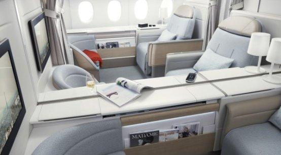 Como é voar nas classes La Première e Business, da Air France
