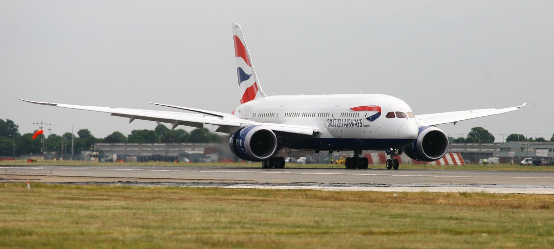 British Airways opera rota para o Brasil com Dreamliner 787-8