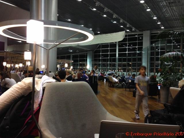 Sala Vip Star Alliance no Aeroporto de São Paulo Guarulhos