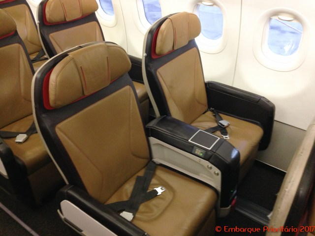 Classe executiva da South African Airways da Cidade do Cabo para Joanesburgo