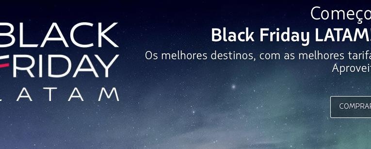 LATAM realiza promoção para a Black Friday