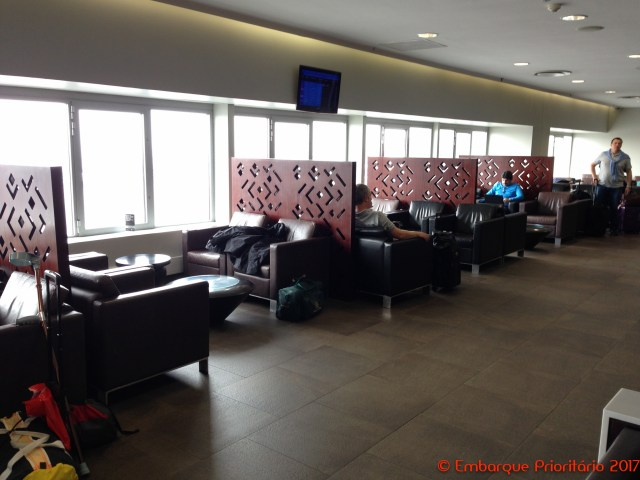 South African Airways Platinum Lounge no aeroporto de Joanesburgo