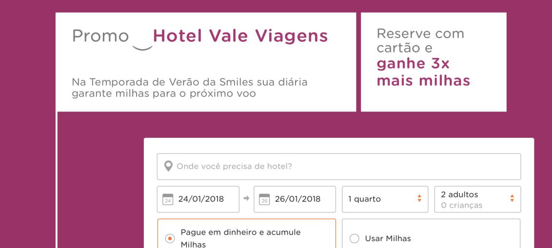 """Smiles dá o quíntuplo de milhas na reserva de hotéis na """"Temporada de verão"""""""