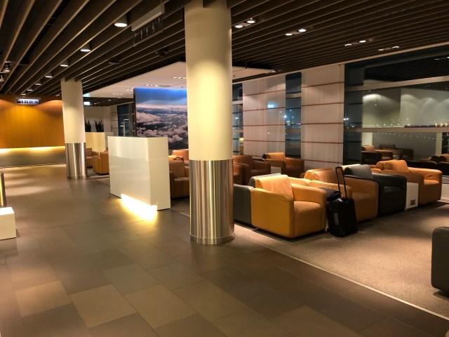 Sala Vip Lufthansa Business Lounge em Frankfurt, Alemanha