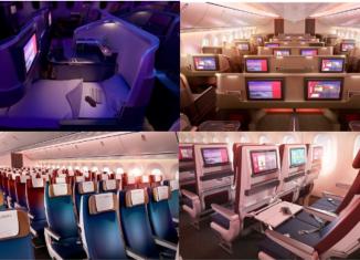 LATAM revela mais detalhes de suas novas cabines