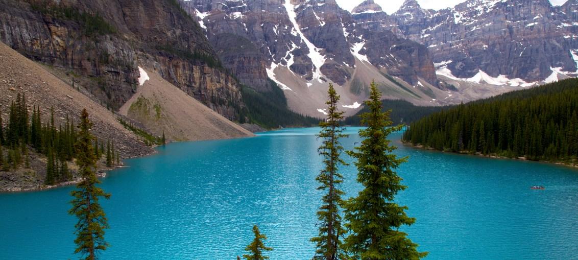Os 5 melhores lagos para visitar no Canadá