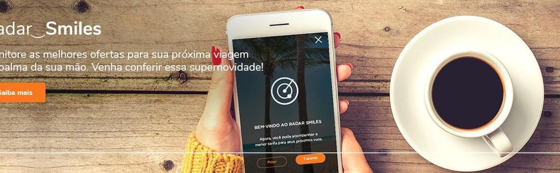 Smiles lança ferramenta para monitorar tarifas de voos no aplicativo