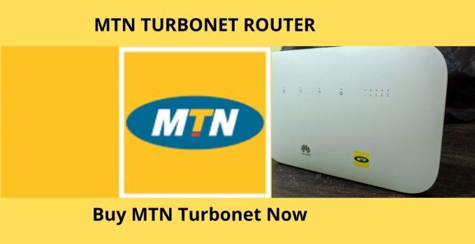 MTN TURBONET ROUTER
