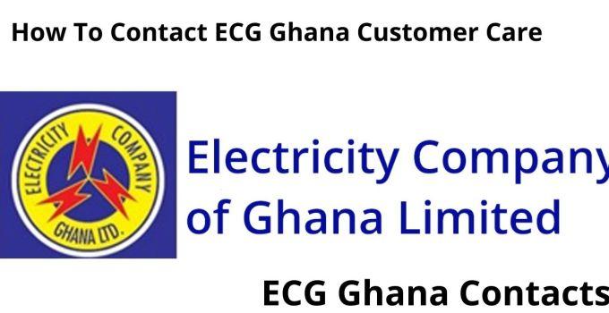 How To Contact ECG Ghana Customer Care