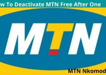 How To Deactivate MTN Free After One