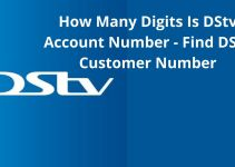How Many Digits Is The DStv Account Number – Find Your Decoder IUC Number