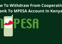 How To Withdraw Money From Your Cooperative Bank to Mpesa Account In Kenya