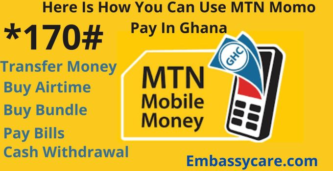 Here Is How You Can Use MTN Momo Pay In Ghana
