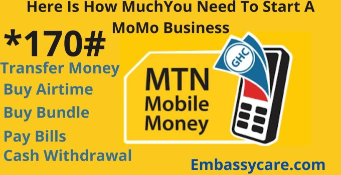 How Much Do I Need To Start A MoMo Business – MoMo Business