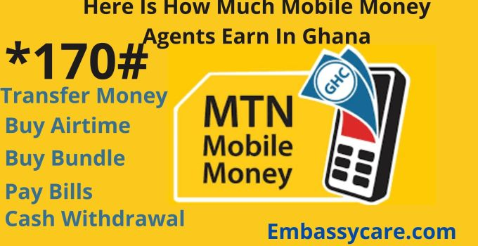 How Much Do Mobile Money Agents Earn In Ghana – MoMo Agent Commission