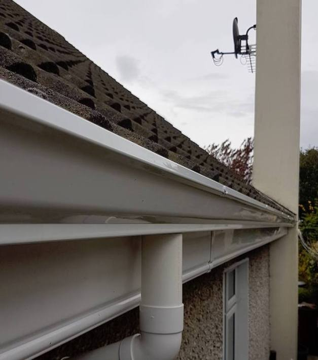 Image of gutters cleaned | Dublin