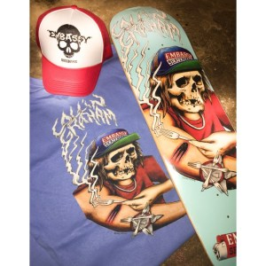 Embassy Skateboards, Collin Graham, Swag Bag