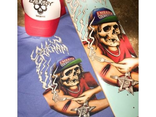 Embassy Skateboards, Collin Graham, Swag Bag
