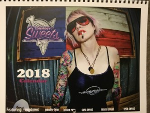 Embassy Sweets 2018 calendar