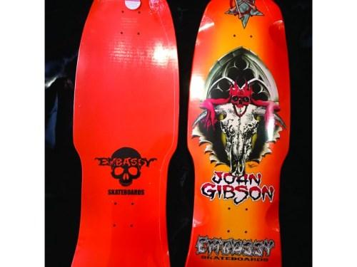 Embassy Skateboards John Gibson OG Sunburst