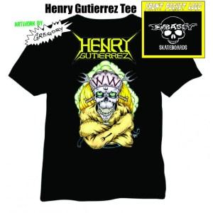 Henry Gutierrez Embassy Nuclear Assault tee
