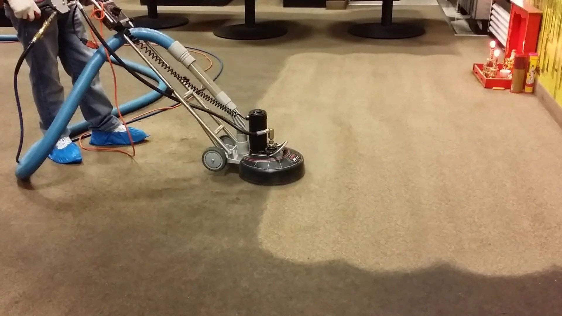 rotovac 360i triple jet carpet cleaning rotary extraction powerhead 12 cleaning width comes with carpet triple jet head to deep clean agitate