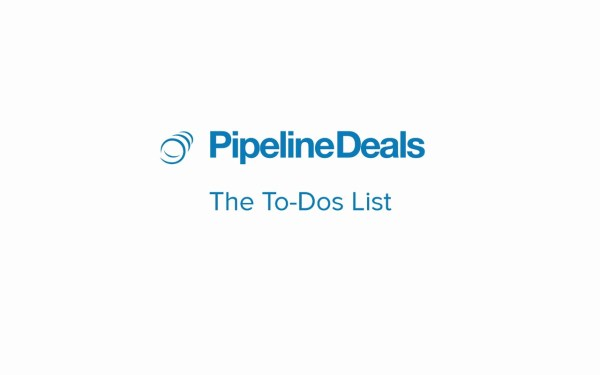 manage your tasks and contacts with PipelineDeals