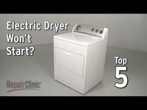 Dryer Repair Help: How to fix a Dryer RepairClinic
