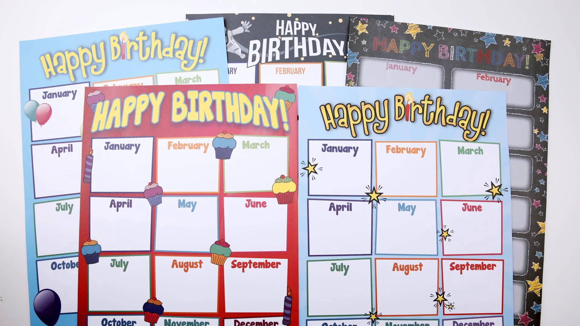 5 Fun And Unique Birthday Bulletin Board Ideas Printable Displays